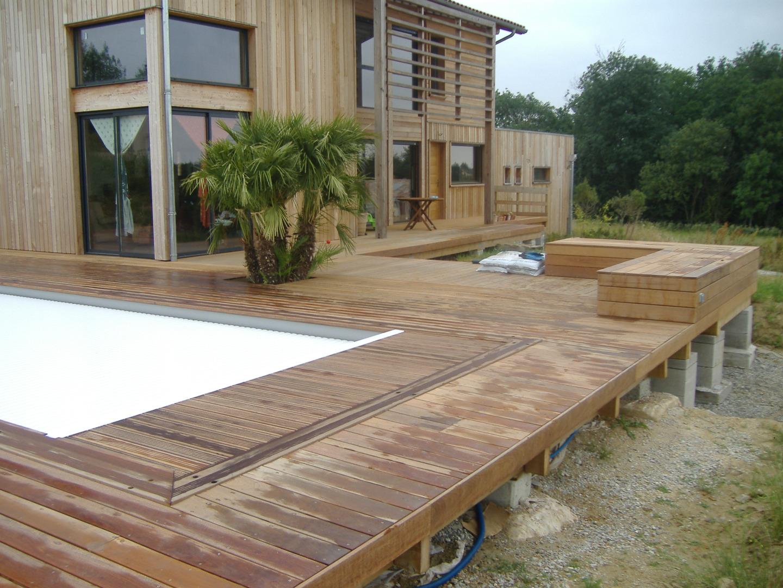 terrasse en IPE - Tour de piscine